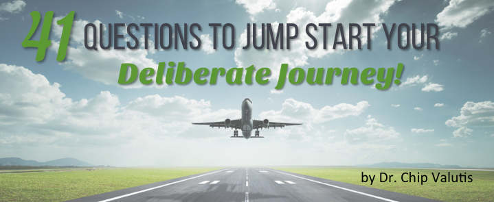 41 Questions to Jump Start Your Deliberate Journey