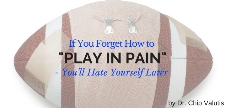 vulnerability and playing in pain