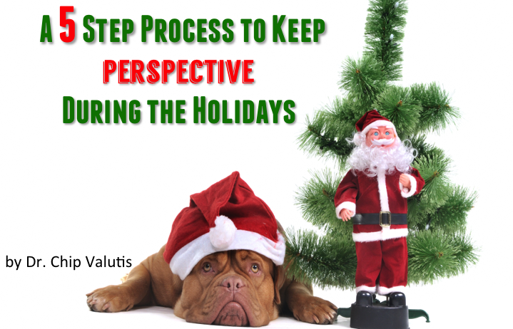 A 5 Step Process to Keep Perspective During the Holidays