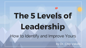 The 5 Levels of Leadership – How to Identify and Improve Yours